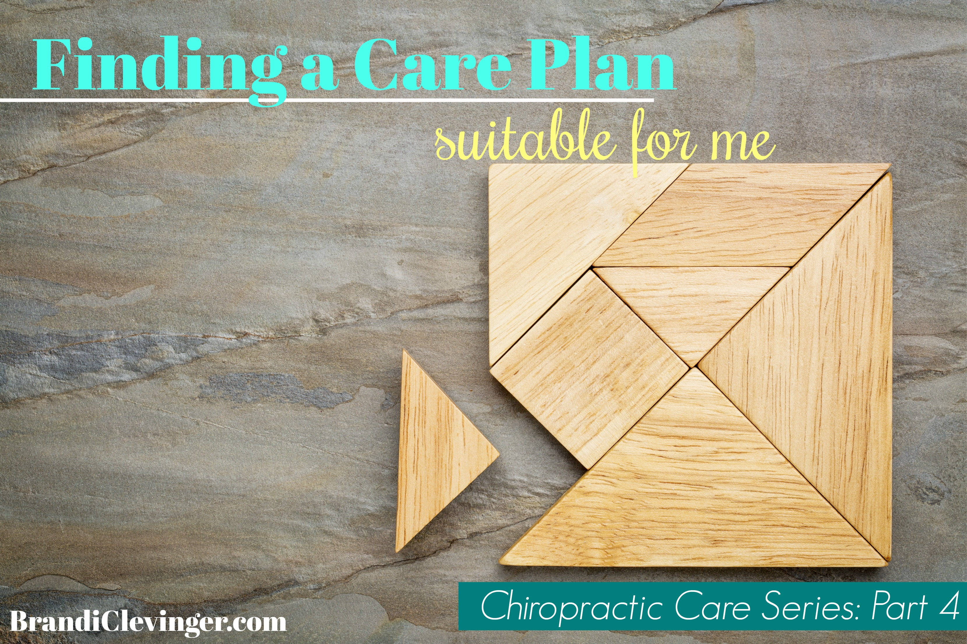 Finding a care plan suitable for me #chiropracticcare #brandiclevinger